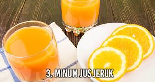 Minum Jus jeruk untuk Sembuhkan mabuk perjalanan