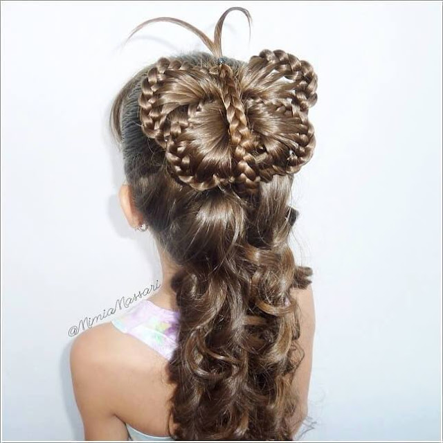 Hairstyles - for little girls