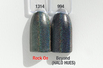 "Comparison ""HALO JEWELS"" ""HALO HUES"" Rock On"