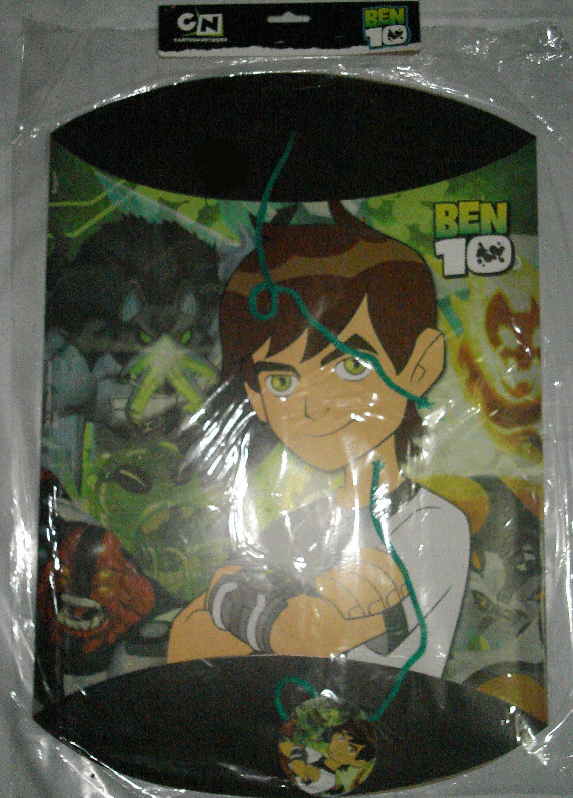 piñata de ben 10 en carton corrugado