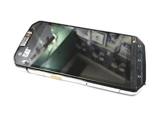 LCD Touchscreen Caterpillar Cat S60 Plus Frame New Original 100% Display