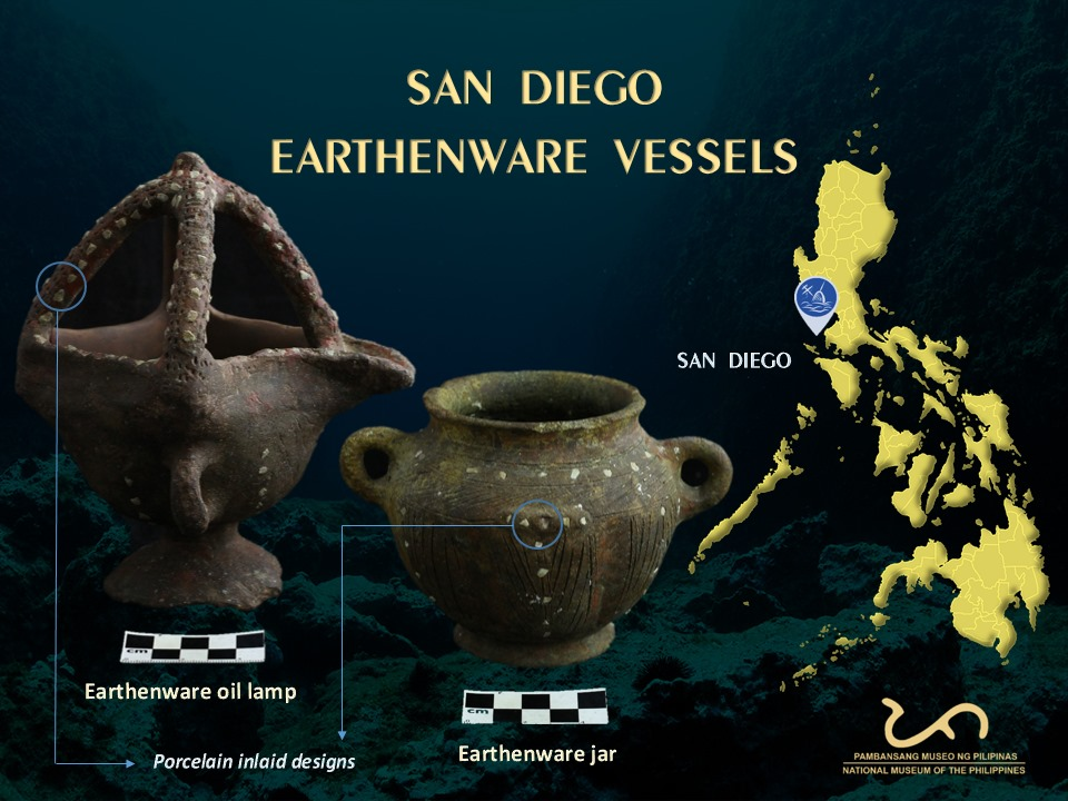 Ceramic finds of the wreck