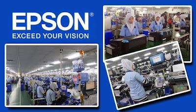 Informasi Rekrutmen Karyawan PT Epson Indonesia Industry (IEI) Posisi: Japanese Translator Staff, Production Planning Control Staff - Periode April - Mei 2020