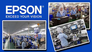 Informasi Rekrutmen Karyawan PT Epson Indonesia Industry (IEI) Posisi Japanese Translator Staff, Production Planning Control Staff - Periode April - Mei 2020