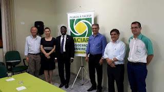 Cônsul honorário da Costa do Marfim  visita ACIAR e fala sobre parcerias