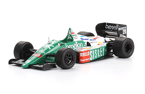 Benetton B186 1986 Gerhard Berger f1 the car collection