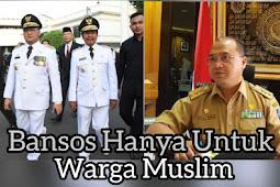 Bansos Syaratnya Agama Islam