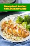 #Honey #Garlic #Instant #Pot #Chicken #Breasts