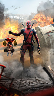 Deadpool Killed Mickey Mouse Mobile HD Wallpaper