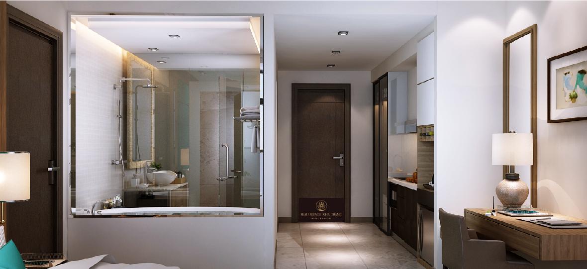 Phòng tắm dự án Beau Rivage 40 Trần Phú