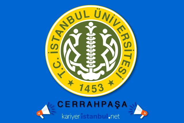 İstanbul Üniversitesi Cerrahpaşa kura ile 20 temizlik elemanı alımı yapacak. İlana nasıl başvurulur? Detaylar kariyeristanbul.net'te!