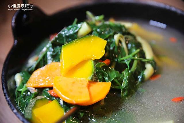 月廬 野菜湯