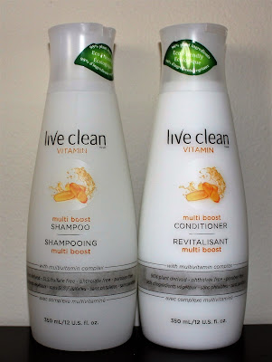 Live Clean Vitamin Multi Boost Shampoo and Conditioner