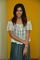 Eesha in a cute deep neck top and Skirt at at Big FM 109.JPG