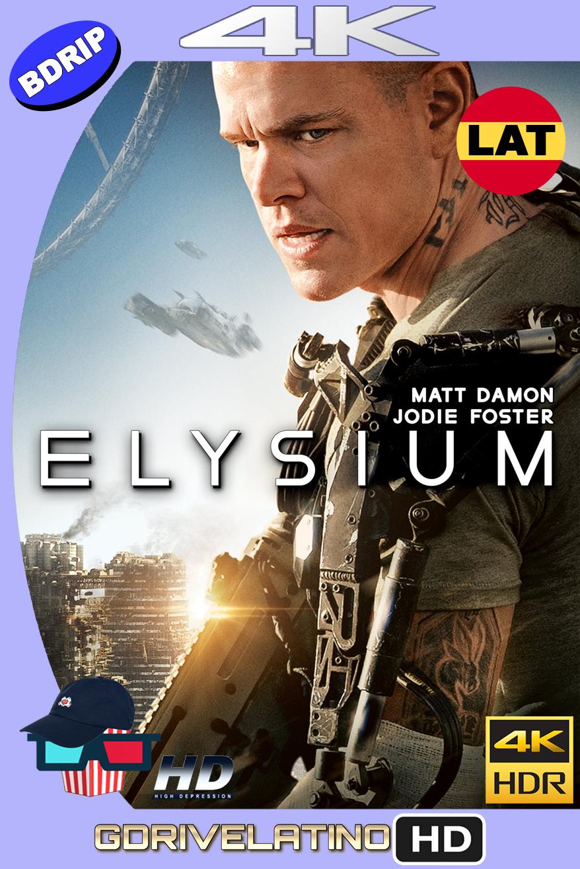 Elysium (2013) BDRip 4K HDR Latino-Ingles MKV