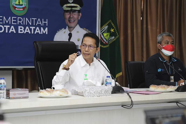 Ikuti Rapat TPID Kota Batam, Amsakar Sampaikan Arahan Presiden Jokowi