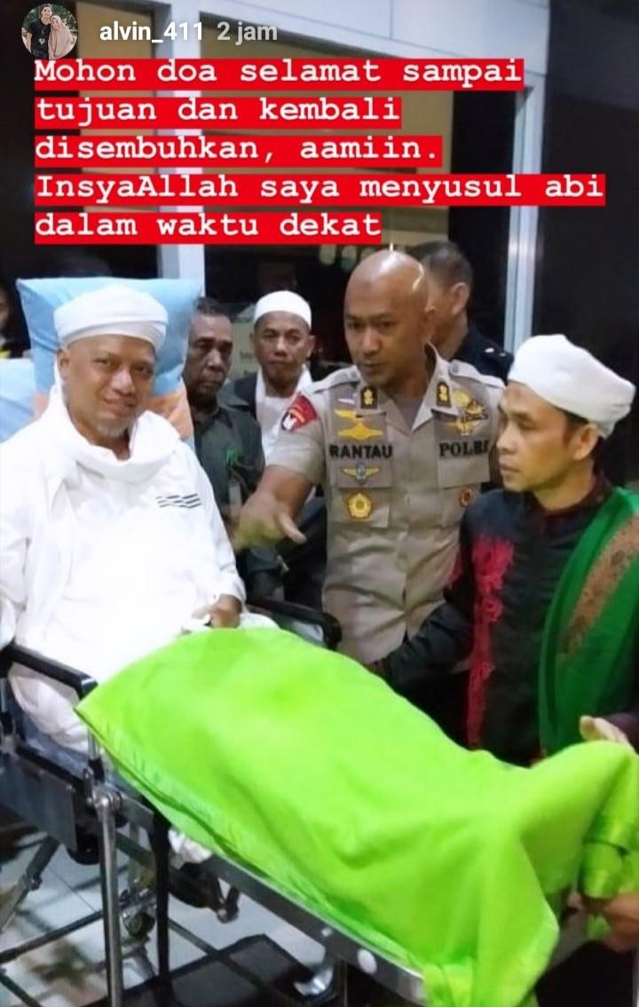 Dipindah dari RSCM ke Malaysia, Begini Kondisi KH M Arifin Ilham