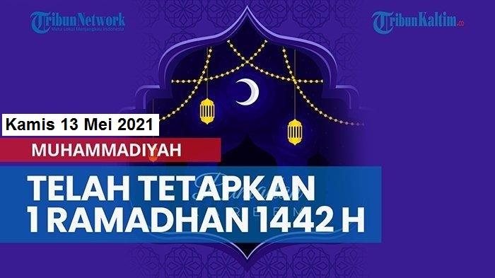 PP Muhammadiyah Tetapkan 1 Syawal 1442 H, Lebaran Beda dengan NU dan Pemerintah