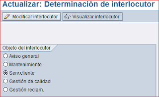 Determinacion de interlocutor