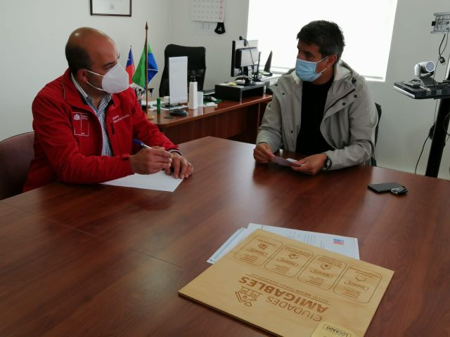 Mauricio Caroca y Alejandro Santana