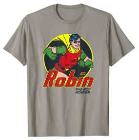 Click here to purchase Robin Running T-shirt at Amazon!