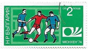 Selo Copa do Mundo FIFA de 1974