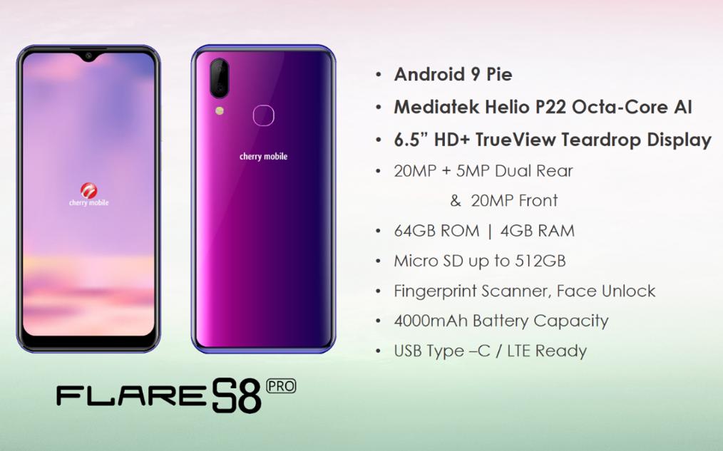 Cherry Mobile Flare S8 Pro Specs