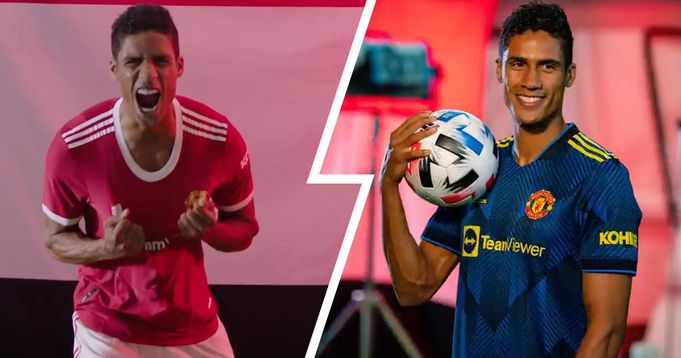 OFFICIAL: United unveil Varane signing with brilliant video