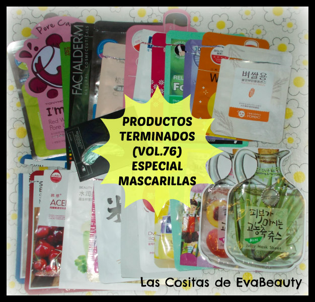 Empties Productos terminados mascarillas mask