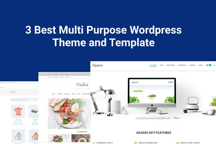 Best Multi Purpose Wordpress Theme and Template