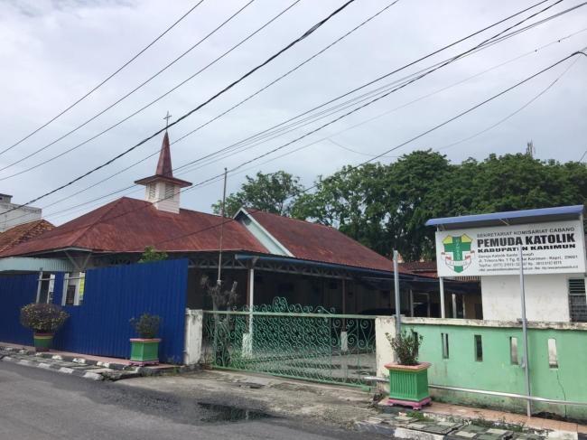 Demo Penolakan Renovasi Gereja Kembali Terjadi di Karimun