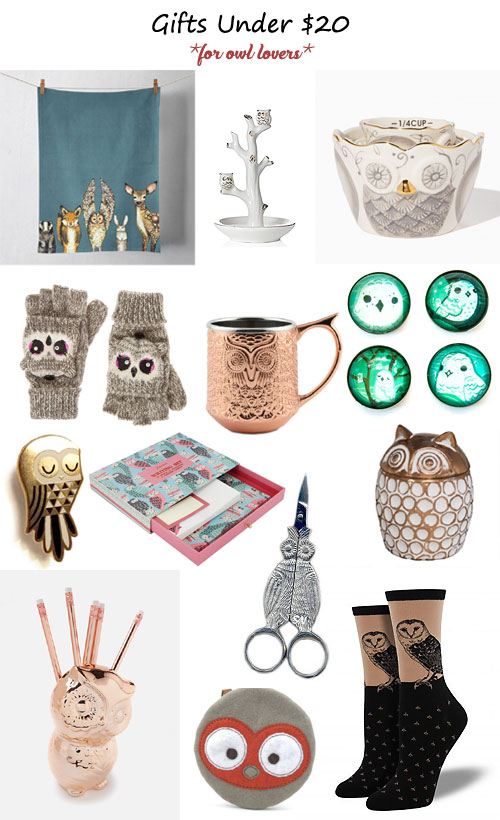 My Owl Barn: Quirky And Useful Gift Ideas Under $20