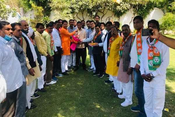 parshad-naresh-nambardar-thanks-mla-rajesh-nagar-news