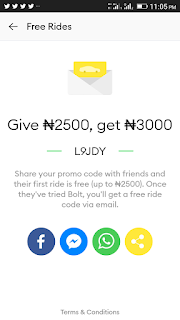 How To Take A Free Ride On Bolt Taxify | OlatechINFO
