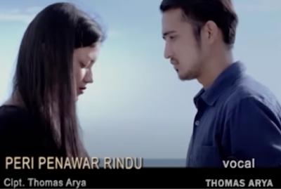 Lirik Lagu Pof  malaysia Thomas Arya  - Peri Penawar Rindu