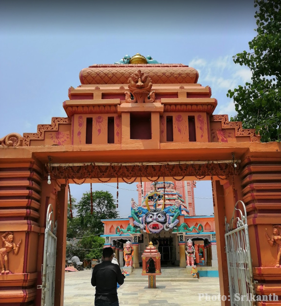 Dhamarai Temple Entrance