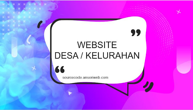 Source Code Website Desa/Kelurahan Gratis