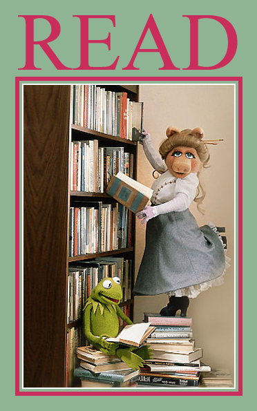 read reading ala poster posters muppets celebrity miss piggy library books kermit american frog libraries association librarian celebrities bibliotecarios ms