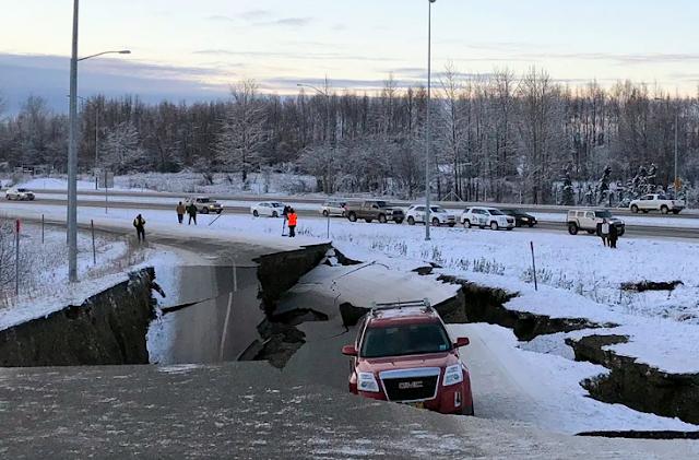 ZEMLJOTRES Aljaska