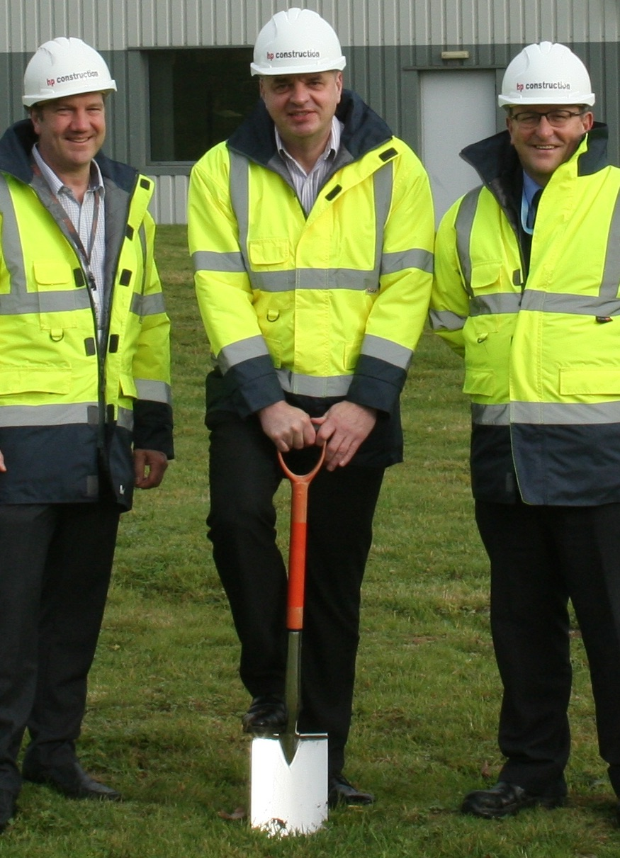 hight resolution of breaking ground in towchester