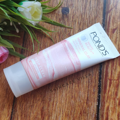 Pond's White Beauty Mineral Clay Facial Foam Review