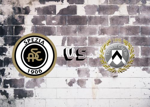 Spezia vs Udinese  Resumen