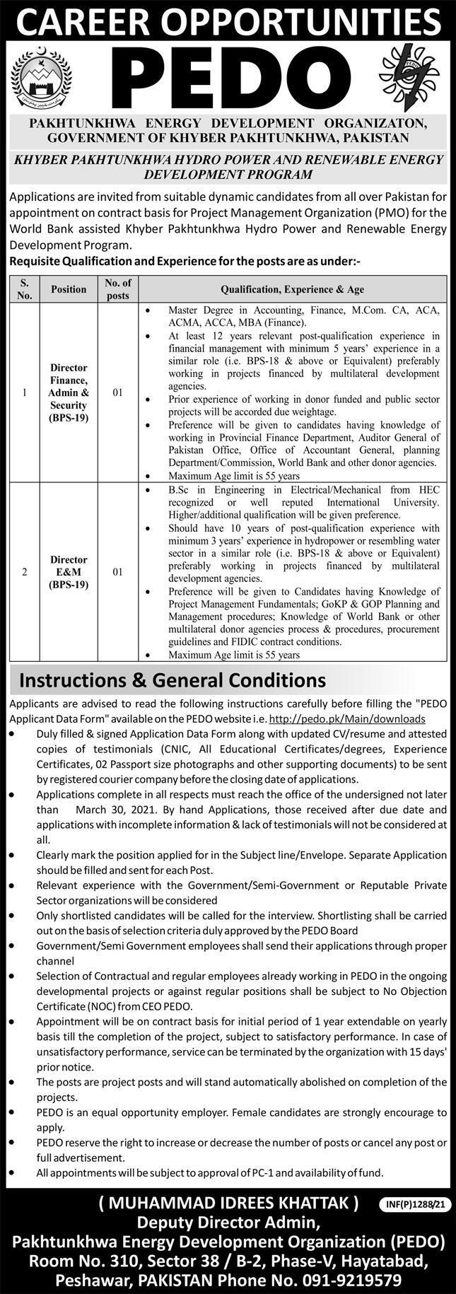 Khyber-Pakhtunkhwa-Hydro-Power-And-Renewable-Energy-Development-Program-jobs-opportunities