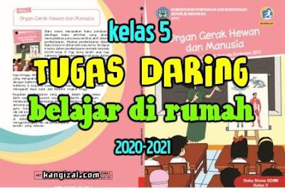 Pembelajaran Daring Kelas 5 Tahun Pelajaran 2020-2021 kangizal.com kang izal kasep