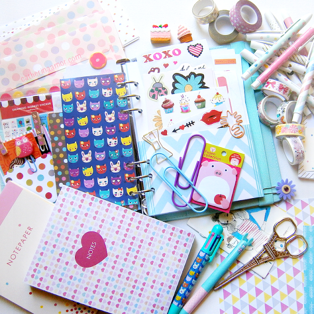 Cute Stationary Planner Supplies