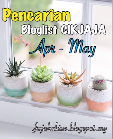 Pencarian bloglist CikJaja bagi Apr dan May