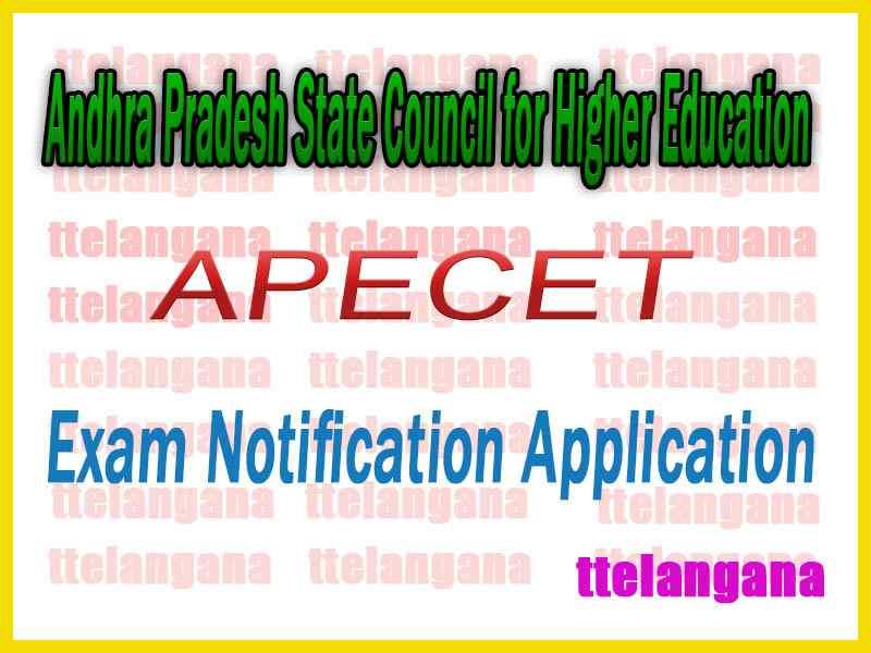 Andhra Pradesh AP ECET APECET  Notification Online Apply
