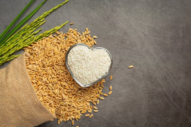 Benefits of white and brown Egyptian rice