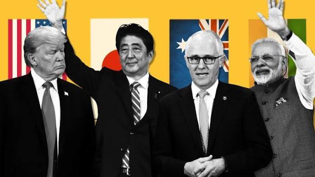 Jepang, AS, Australia, dan India akan Duduk Bareng Bahas Cara Hadapi China