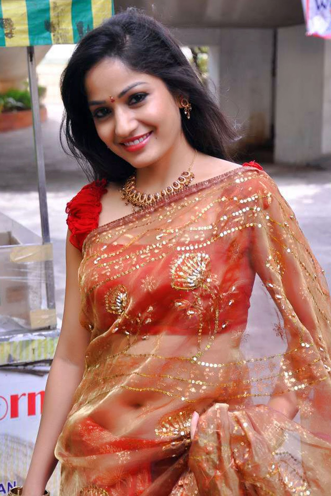 Telugu Actress In Saree New Hd Photo Shoot Wallpaper Free -1622